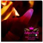 IshtarNails Acrylgel Night Light White and Dark Pink 2