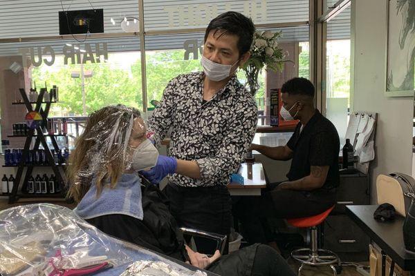 deconfinement les salons de coiffure