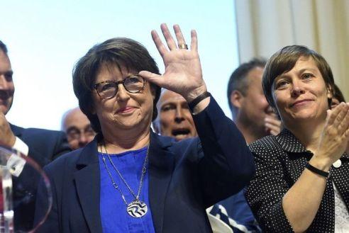 Municipales à Lille : la victoire de Martine Aubry est saluée par ...