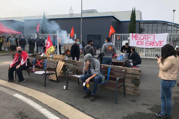 Les salariés de MECAFI sont appelés à cesser le travail depuis ce matin et pour une durée indéterminée.