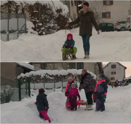IN PICTURES – At 930 m, the every day lifetime of the inhabitants of Aubure, the best village in Alsace, with 80 cm of snow