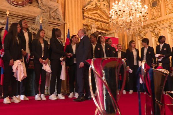 lyon accueille ses championnes d europe