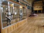 Salle des Preuses. Les visiteurs venaient ici admirer la collection d'armures de Napoléon III. - © https://franceetmerveilles.wordpress.com - Tous droits réservés