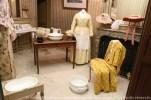 La salle de bain de la chambre d'honneur