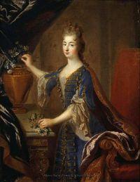 La Princesse de Conti - François de Troy (1697)