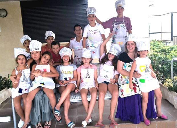 fin de curso de verano france intense julio 2015