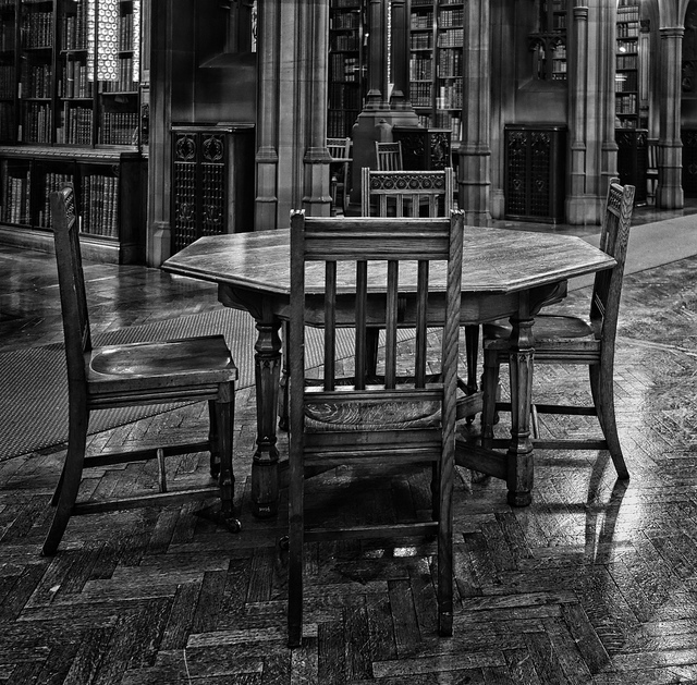 John Rylands Reading Room by Gillie Rhodes CC BY-NC 2.0