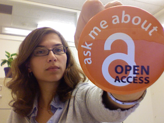 Ask me about Open Access by Molly