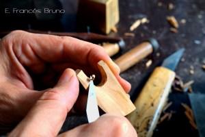 baroque violin bow making frog eduardo frances bruno luthier