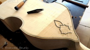 rose tenor viol purfling detail eduardo frances bruno luthier