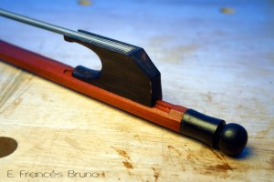 Eduardo frances bruno luthier baroque cello bow continuo nut