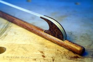 Eduardo frances bruno luthier baroque violin bow Gentileschi nut