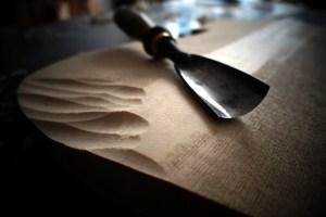Eduardo frances bruno luthier workshop carving belly