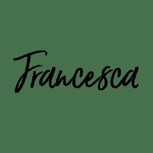 Firma di Francesca Cinus - Rivelatrice di Comunità