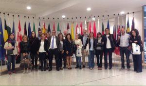 Corso di europrogettazione della Camera di Commercio Belgo-Italiana, partecipante Francesca Cinus - Rivelatrice di Comunità