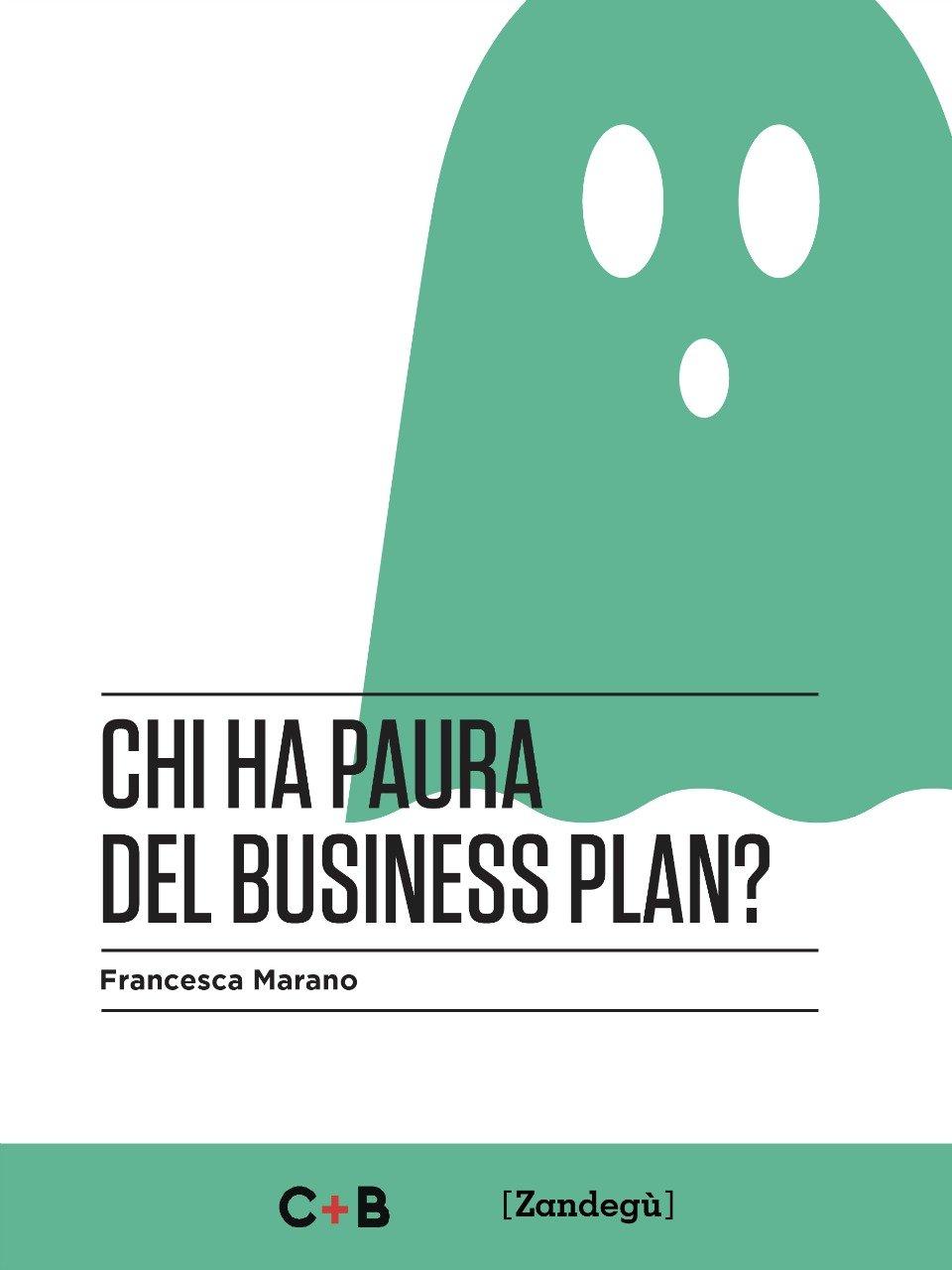 """Copertina del libro """"Chi ha paura del business plan"""" di Francesca Marano"""