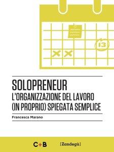 "Copertina del libro ""Solopreneur"" di Francesca Marano"