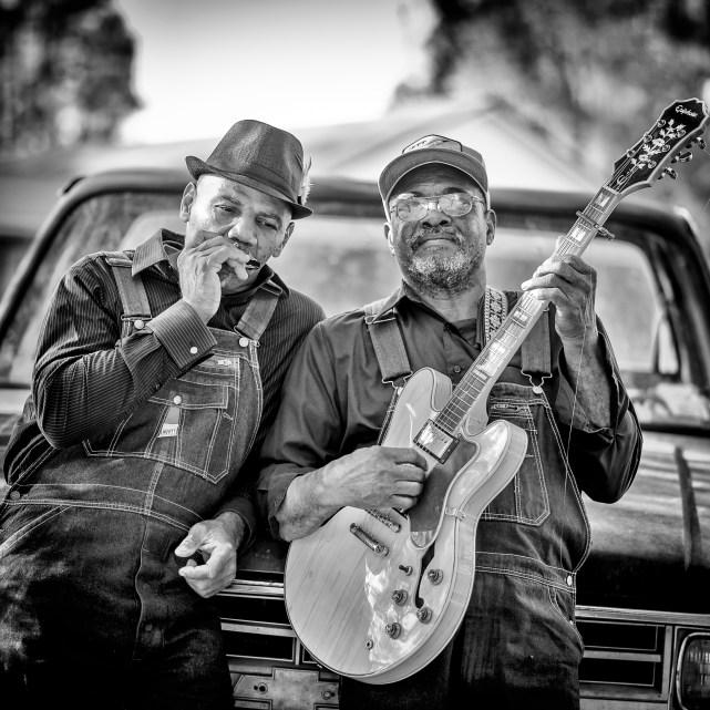 Clarence Davis & Jock Webb