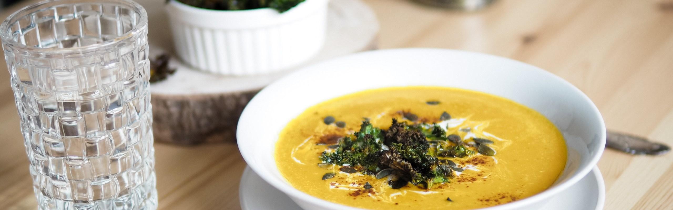 Kokos Kürbis Suppe
