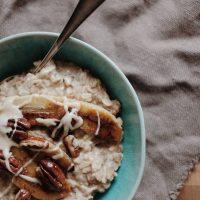 Cremiges Porridge mit Activia
