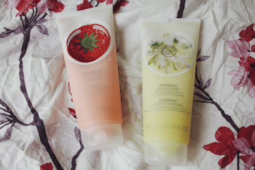 the body shop body sorbets review on francescasophia.co.uk