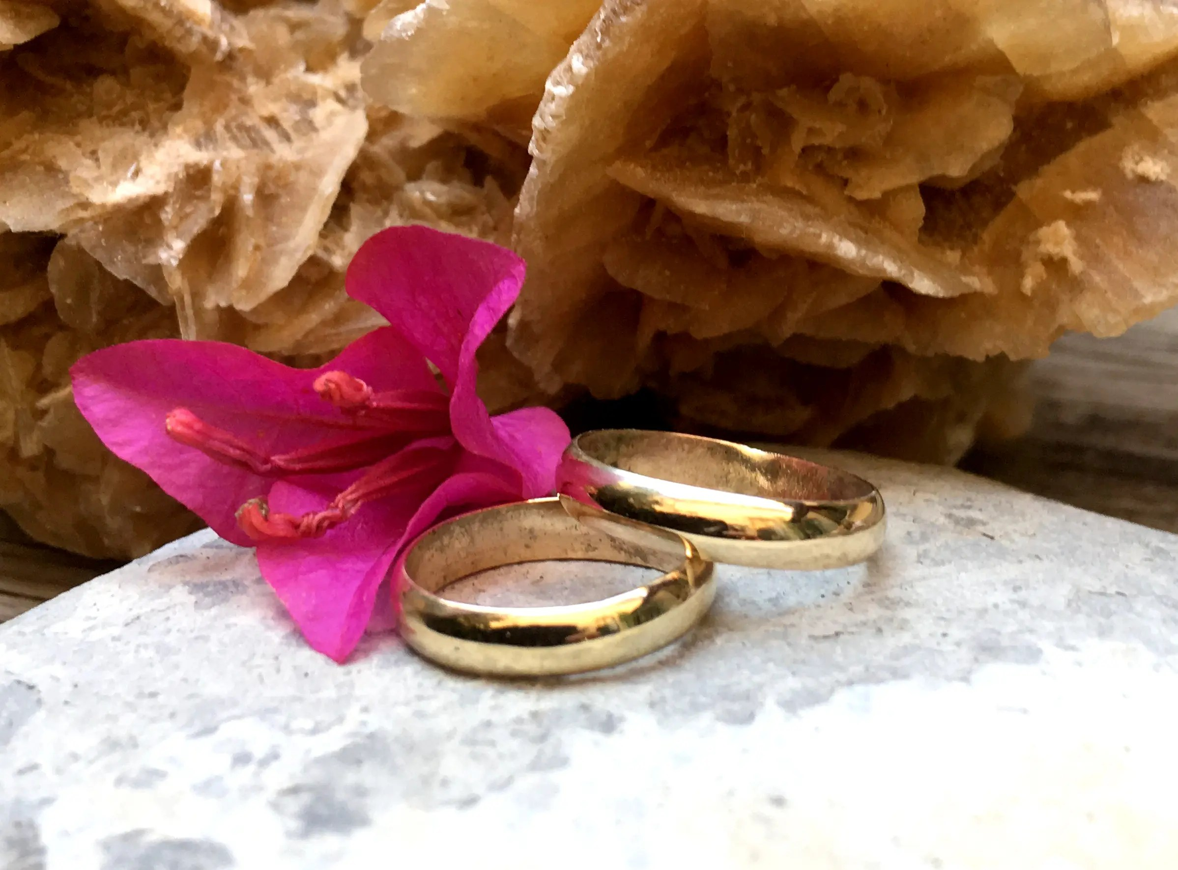 18ct Ethical gold Wedding bands