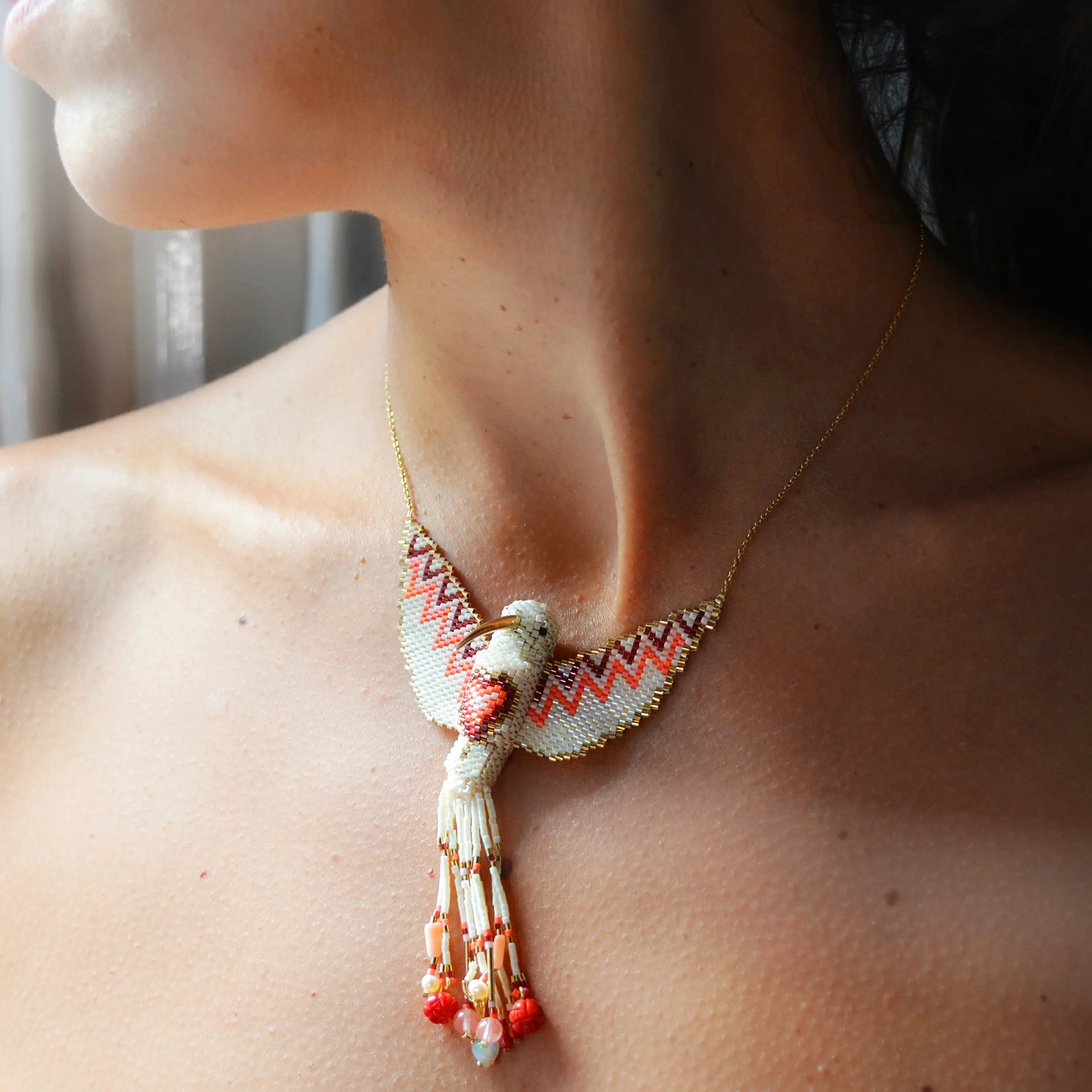 Oxalà hummingbird Necklace