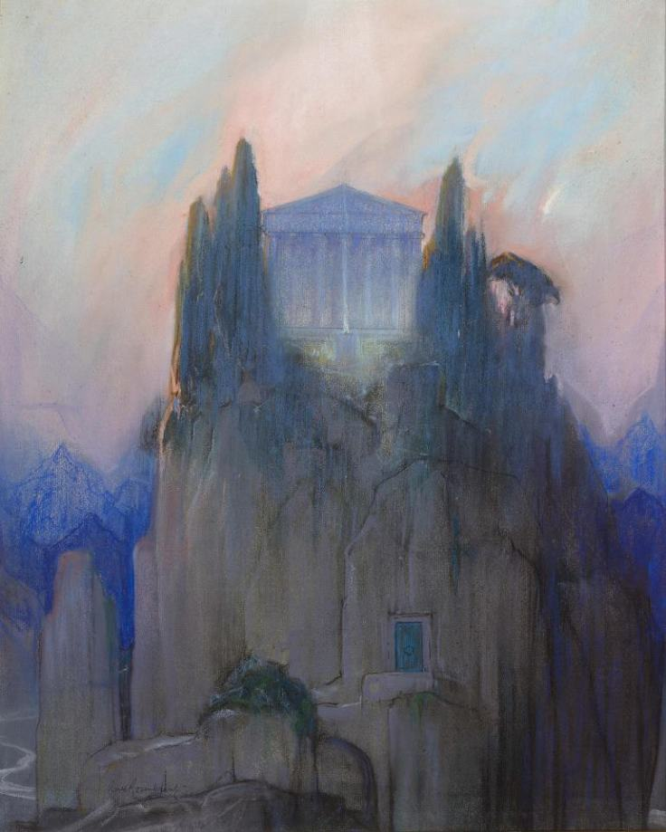 "Baron Arild Rosenkrantz, ""The Temple"", 1931."