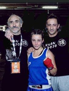 Francesco Dal Pino -Cecilia Attalla-Davide Passaretti-DOJO RUAN BOXING
