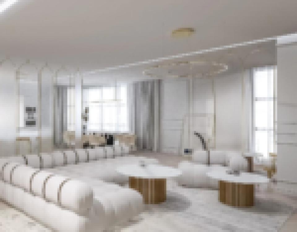 Salon nowoczesny5 1 - Dom w stylu modern loft - Wrocław