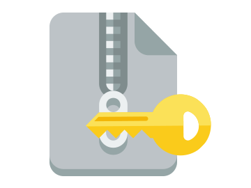 extract multiple zip files with password