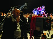"""Il set del film di Paolo Sorrentino, """"La grande bellezza"""" (foto di Gianni Fiorito)"""