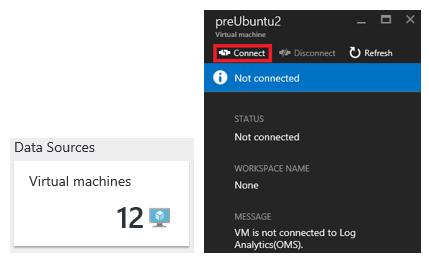 Figure 3 - Onboarding Linux VM Azure in OMS