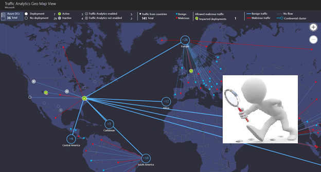 How to monitor network activities in Azure with Traffic
