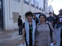 new Tunisian friend, Dalila, WSF 2013; 26 March; Photo by Rifqa