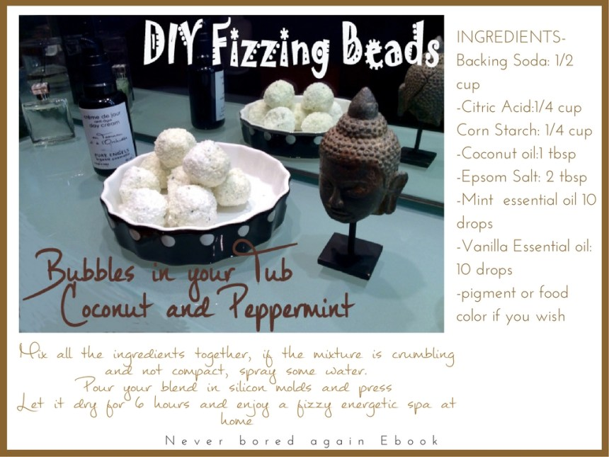 DIY fizzy beads