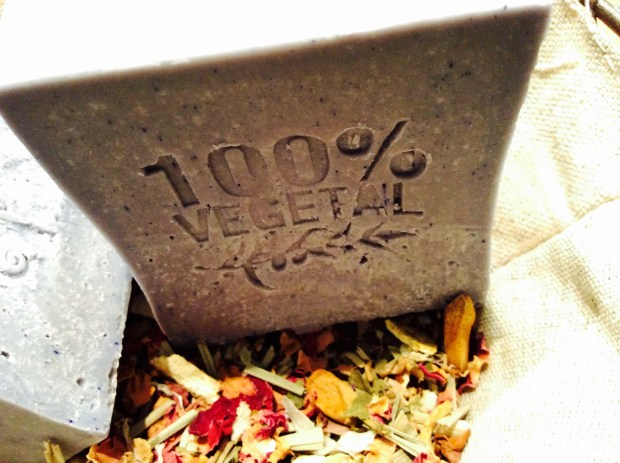 DIY recipe for vegetal soap