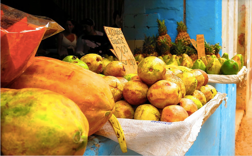 exotic fruits contain vitamin c as well as enzymes to keep the vitamin c active and unoxidized.