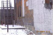 Side alley of 1469 Niagara St.
