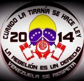 """""""Quand la tyrannie se fait loi, la rebellion est un droit. Le Venezuela se respecte"""""""