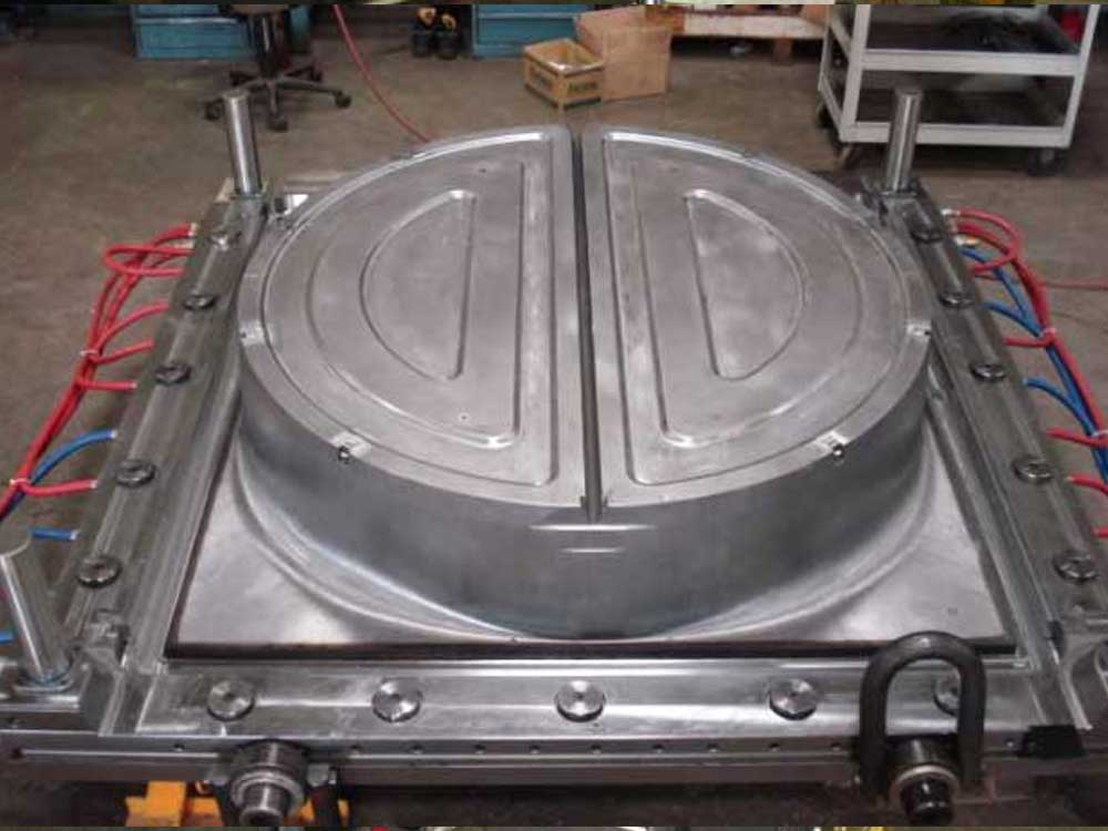Plastic Injection Tooling, Compression Mold