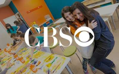 WCCO CBS 4 features Kidcreate Studio Valentine's Day Craft