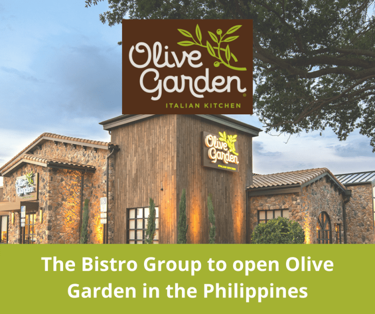 The Bistro Group to open Olive Garden in the Philippines
