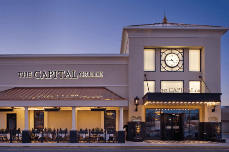 International Franchising for The Capital Grille is available. Premier American dine dining.