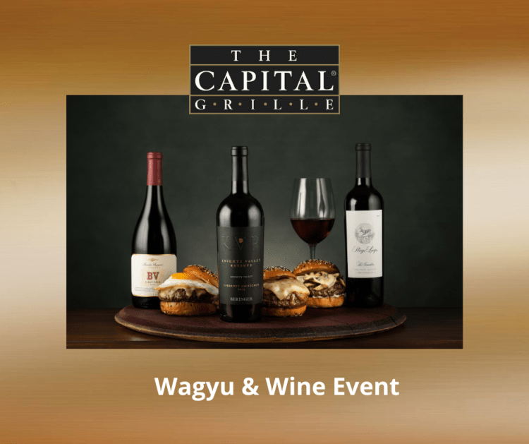 The Capital Grille Wagyu and Wine Event. International Franchising.