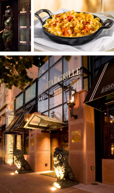 The Capital Grille Photo Gallery 3. The Capital Grille is now available for International Franchising.