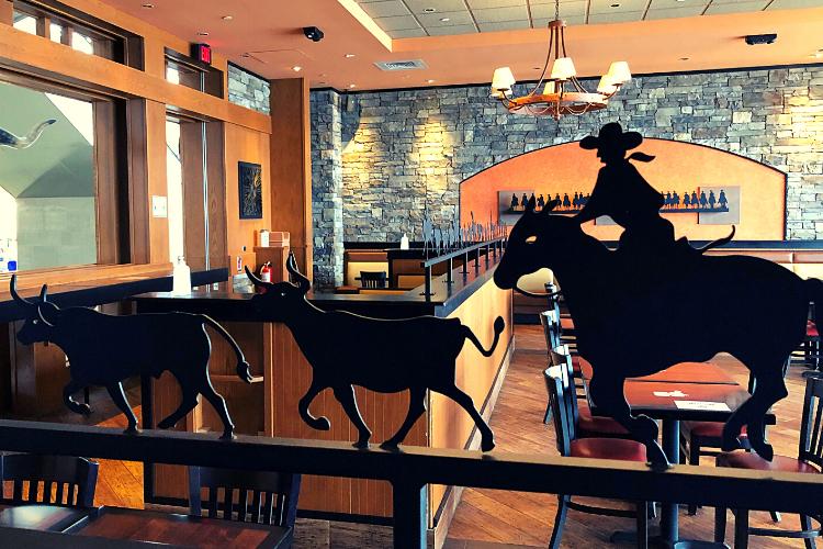 Longhorn Steakhouse Franchising Interior Design