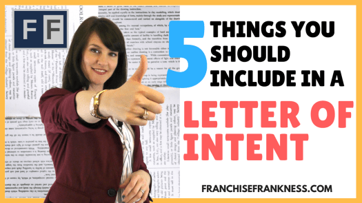 5 Things you Should Include in a Letter of Intent
