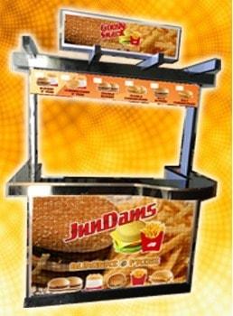 burgerduo food cart