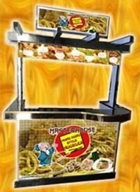 hong kong style noodles food cart